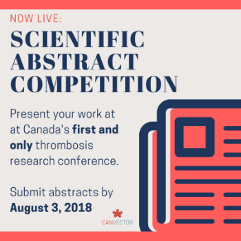 Scientific Abstract Competition Launch for the CanVECTOR 3rd Annual Conference Image